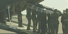 Watch: Fallen soldiers' bodies return from Afghanistan