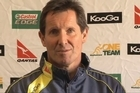 Wallabies coach Robbie Deans faced the New Zealand media before the second Bledisloe Cup test at Eden Park, being very upfront about what his Aussie team has to do to beat the All Blacks at home.