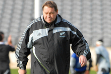 Steve Hansen knows how to use public forums to benefit his side. Photo / Christchurch Star