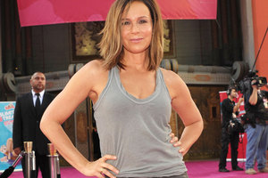 Jennifer Grey attends the 25th anniversary screening of Dirty Dancing in Los Angeles. Photo / AP