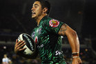 Warriors halfback Shaun Johnson has hinted at making a switch to sevens rugby ahead of the 2016 Olympics. Photo / Getty Images.