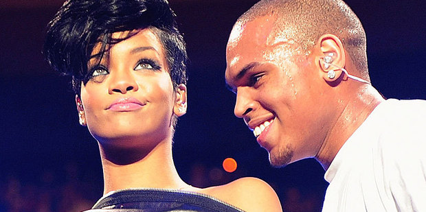Rihanna says Chris Brown is the 'love of my life'.  Photo / AP