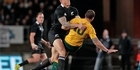 View: All Blacks v Wallabies - second test