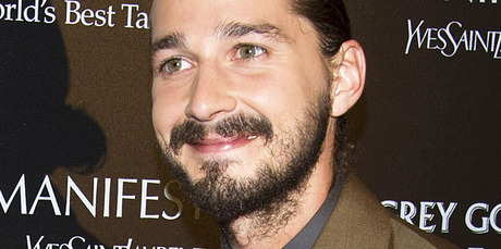 Shia LaBeouf isn't shying away from explicit content in an upcoming Lars Von Trier film. Photo / AP