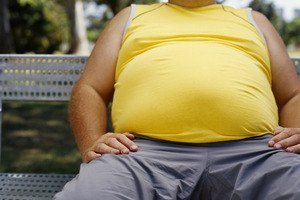 A recent study shows piling on weight in middle age may be bad for your head as well as your heart. Photo / Thinkstock