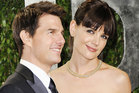 Tom Cruise and Katie Holmes during happier times. Photo / AP