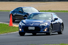 A low-slung profile and wide rear gives Toyota's sports coupe 86 a dynamic look and as rally champion Neal Bates says: