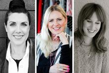 Designers from left: Deryn Schmidt; Vicki Taylor; Sara Aspinall and Lizzie Turner. Photos / Babiche Martens/Supplied