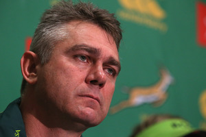 Heyneke Meyer, Springboks head coach. Photo / Getty Images