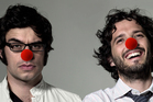 Flight of the Conchords show their support for Red Nose Day. Photo / Supplied