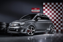 Fiat's 500 Abarth has abilities far beyond its cutesy exterior. Photo / Supplied