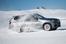 BMW's xDrive Experience was a fitting farewell to winter, and a whole lot of powdery sideways fun. Photo / Supplied