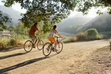 Early morning bike rides are pretty special.
