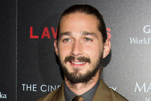 Shia LaBeouf says he sent director Lars von Trier a sex tape to land him a role on his new film. Photo / AP