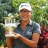 New Zealand golfer Lydia Ko with her trophy after winning the Bing Lee NSW Open Women's Golf Championship, January 29. Photo / Supplied