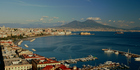 Mt Vesuvius looms over the Gulf of Naples. Photo / Thinkstock