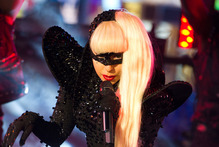Lady Gaga insisted on creating the world's first black perfume. Photo / AP