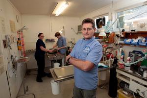 Papatoetoe vet Dr William Baird. Photo / Michael Craig