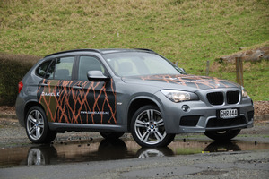 Vanessa Kim of Daniel K's design for BMW. Photo / Jacqui Madelin