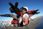 Skydiving over Queenstown gives a new perspective. Photo / Supplied