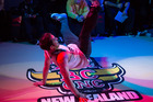 Grub D (aka David McCavitt) at a Wellington breakdance competition this year. Photo / Supplied