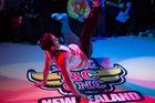 Grub D (aka David McCavitt) at a Wellington breakdance competition this year. Photo / Supplied