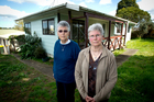 Sisters of Mercy Wiri Anne Hurley (left) and Margaret Martin found empty and damaged homes. Photo / Dean Purcell