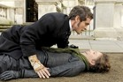 Hugh Dancy and Maggie Gyllenhaal in Hysteria. Photo / Supplied