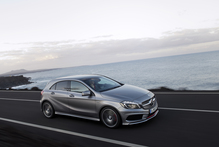 The new A-Class is a completely different sort of car from its forerunners. Photo / Supplied