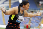 New Zealand shotputter Valerie Adams was elevated from silver to gold after Nadzeya Ostapchuk failed a drug test. Photo / File