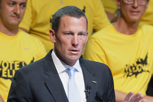 Lance Armstrong's Livestrong has raised US$470 million. Photo / AP