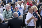 Mitt Romney will need fighting spirit.  Photo / AP
