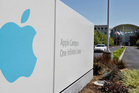 Apple's headquarters in Cupertino, California. Photo / AP