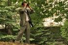 Jeffrey Johnson birdwatching in New York's Central Park. Photo / Jean Shum, AP