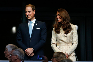 Prince William and wife Kate, the Duke and Duchess of Cambridge. Photo / AP