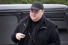 Kim Dotcom's Megaupload website was accused of being a front for internet piracy.  Photo / Sarah Ivey