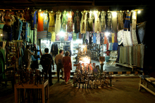 The souk in Edfu is open late into the night. Photo / Alan Gibson