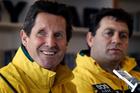 Wallabies coach Robbie Deans and assistant coach David Nucifora. Photo / NZ Herald