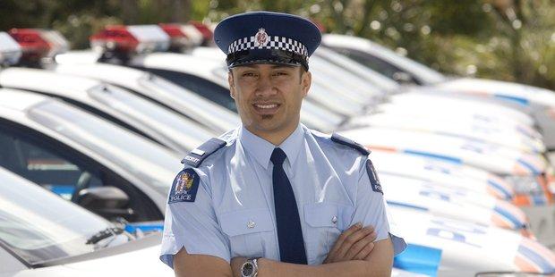Slain police officer Kali Fungavaka. Photo / Mark Mitchell