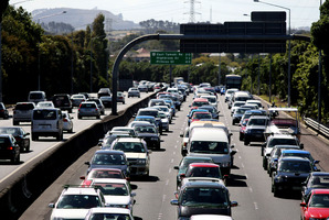Mr Brownlee said New Zealanders were driving more kilometres than ever. Photo / Natalie Slade