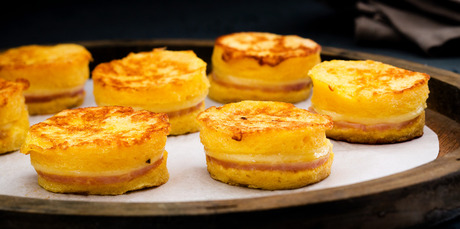 Petite croque monsieur. Photo / Babiche Martens