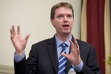 Conservative Party leader Colin Craig. Photo / Natalie Slade
