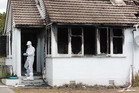 The Holland Rd state house was gutted by the suspicious blaze. Photo / Christine Cornege