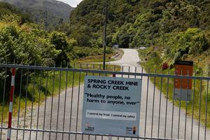 The entrance to the Spring Creek Mine. Photo / David White
