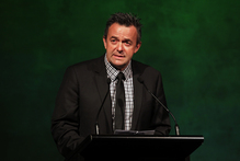 Warriors chief executive Wayne Scurrah discusses the club's ability to target rugby players. Photo / Sarah Ivey