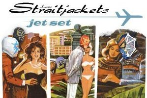 Album cover for Jet Set by Los Straitjackets. Photo / Supplied