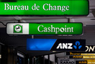It's green now - but that could soon change to ANZ blue. Photo / Sarah Ivey