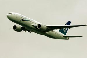 Flight NZ2 set off an emergency 'squawk'. Photo / NZPA