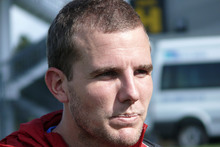 Brockie scored four of the five goals. Photo / NZPA