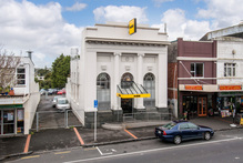 The ASB character building for sale at Great North Rd, Pt Chev.